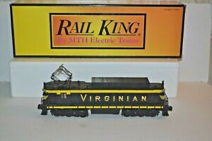 RAIL KING BY MTH VIRGINIAN RECTIFIER ELECTRIC ENGINE W/PROTOSOUND 2.0 O GAUGE OB