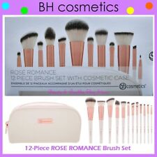 ❤️⭐NEW BH Cosmetics 😍🔥👍 ROSE ROMANCE Brush Set 🎨💋12-Piece w/Cosmetic Case💎