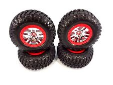 NEW TRAXXAS SLASH PLATINUM EDITION LCG 4x4 BF GOODRICH TIRES & CHROME WHEELS