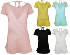 Women's Short Sleeve Sleeve V Neck Casual Semi Fitted Tops & Shirts