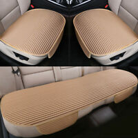 3X Auto Car Seat Covers Protect Cushion Chair Mat Pad Full Set Front Rear