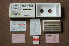 BOXED NINTENDO GAME & WATCH OIL PANIC OP-51 1983 VERY GOOD WORKING CONDITION