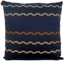 """MISSONI HOME PILLOW COVER EMBROIDERED LORENA 503 COTTON SATEEN 16x16""""  DISCOUNT"""