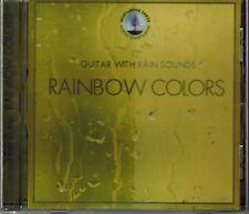 RAINBOW COLORS - GUITAR WITH RAIN DROPS - MINT CD