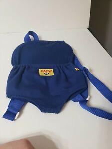 Build a Bear BABW Backpack Bear Carrier Blue