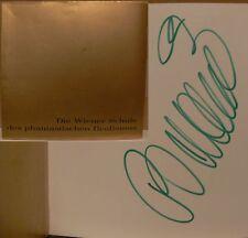 Arik Brauer Buch Wiener Schule signed signiert autograph Signatur Autogramm
