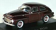 Volvo PV 544 Limousine 1958-69 dunkelrot dark-red 1:43 Atlas