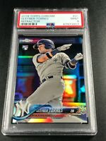 GLEYBER TORRES 2018 TOPPS CHROME #31 REFRACTOR ROOKIE RC PSA 9 YANKEES (A)