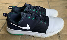 New listing Nike FI Impact 3 Navy White Spikeless Golf Shoes AH6959-002 Men Size 8.5