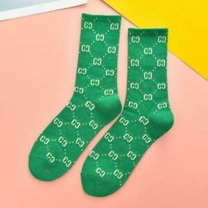 Cotton G G Socks Design One Size Fit Colorful Long For Women Casual Fashion NEW