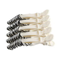 5Pcs Hairdressing Hair Sectioning Crocodile Grip Clips Fresh Clamps Hairpins