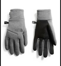 The North Face Mens UR Powered Etip Glove Heather Grey Size Large