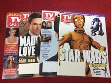 TV GUIDE MAGAZINES AUGUST 2008 (STAR WARS/GREY's/MAD LOVE/NCIS/1015125) SET OF 4