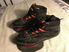Mens Strength Athletic Training Shoes Size 12 Us Black Red Jumping Exercise Sc8