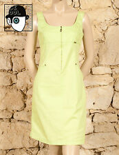 'CLAUDE MONTANA - MONTANA BLU' 90s SUMMER DAY DRESS - UK 10 - (Z)