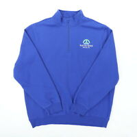 Barton Creek Austin TX Men 2XL 55 1/4 Zip Pullover L/S Sweatshirt Jacket KC 2020