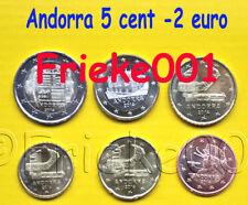 Andorra - 5 cent tot 2 euro 2014 unc.