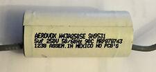 Aerovox 5uF 250VAC Axial Capacitor! Lot of 2! W43A2505E SH9531 MRP878743