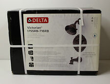 Sealed New Delta 1755RB 716RB Victorian 17 Series Tub U0026 Shower Bronze Faucet