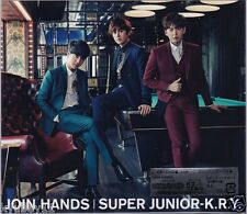 SUJU SUPER JUNIOR K.R.Y. JOIN HANDS First Limited Edition CD DVD Card Japan New