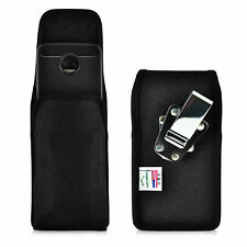 Motorola Moto Z2 Force Holster Metal Clip Case Pouch Nylon Vertical Turtleback