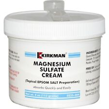 Magnesium Sulfate Cream, Epsom salts, 113 grams