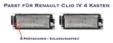 LED SMD Kennzeichenbeleuchtung Renault Clio IV 4 Kasten (06)