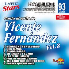 Karaoke Latin Stars 93 Vicente Fernandez Vol.2