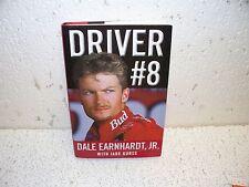 Driver #8 by Jade Gurss and Dale Earnhardt Jr. Hardback Book