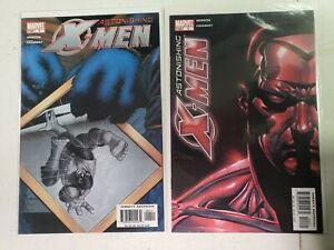 Astonishing X-Men #4 lot, 1st Appearance Armor 1st Print, 2004 Whedon Cassaday