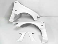 New 4Pcs GT Vented Front Fender Aero Kits For Mitsubishi Evo 8 9 VS Style FRP