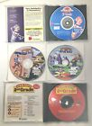 Jump Start - Pc Cd Rom Computer Game Lot Of 4 - 3d Virtual World Learning Skills