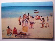 Vintage Postcard Cuban Rhythm In Varadero Beach