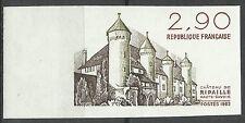 France Chateau de Ripaille Castle Non Dentele Imperforated Geschnitten ** 1982