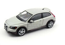 1:24 Volvo C30 Alloy Diecast car Model Collection Toy Vehicle Gift Gray 1605