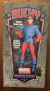 BUCKY Full Size Statue Faux Bronze Version Bowen Designs Marvel Captain America