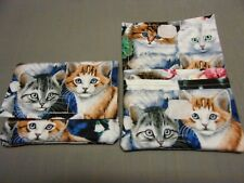 Cute Kitten Print Wonder Wallet -Lots of Pockets (Small and Compact)