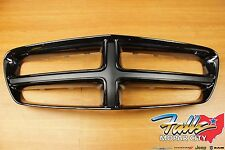 2011-2014 Dodge Charger Gloss Black Smoked Chrome Finish Front Grille OEM MOPAR