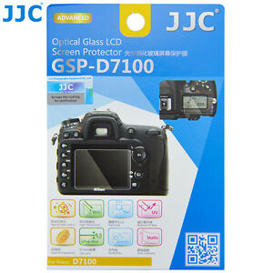 JJC GSP-D7100 Optical Glass LCD Screen Protector for Nikon D7100 D7200