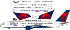 Delta Boeing 757-200 Go Mets decals for Minicraft 1/144 kit
