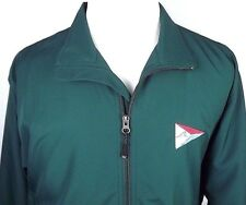 Cutter & Buck CB Weathertec Mens Jacket Medium with Logo Green Vented Polyester