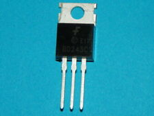 1 - New Bd243C Transistor Npn 100V 6A To-220 for Tesla Coil and more - Fast