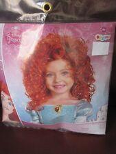 Disney Merida Brave Wig Red Curly New NIP Dress Up Hair