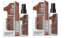 Revlon Uniq 1 All in One COCONUT Hair Treatment Spray 150ml Pack of 2