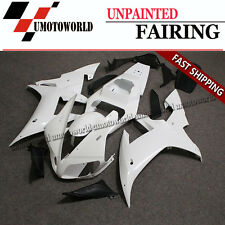 Unpainted Fairing Kit Fit Yamaha YZF R1 2002-2003 ABS Injection Bodywork Frame