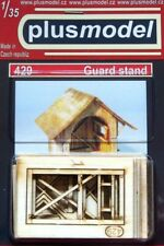 Plusmodel 1:35 Wooden Guard Stand Model Kit
