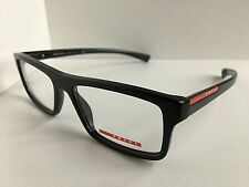 New PRADA Sport VPS 07C SMI-1O1 Rx  Blue 53mm Men's Eyeglasses Frame Italy #1