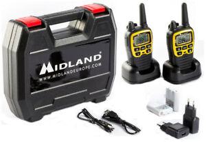 Midland XT-70 Kofferset Basic Adventure Edition Funkgeräte Set digital PMR 446