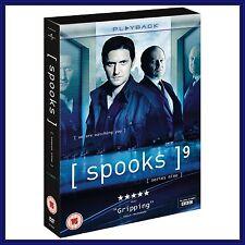 SPOOKS COMPLETE BBC SERIES 9 **BRAND NEW DVD***