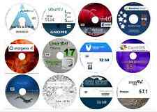 Linux Collection No1 -12 Disks 32 bit inc, Arch Mint Debian Pinguy CentOS & more